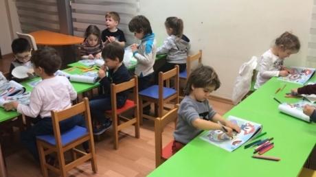 Fatih Okyanus Koleji Okul Öncesi Kuşlar Grubu İngilizce Dersinde