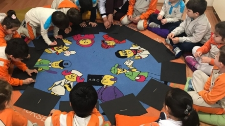 Fatih Okyanus Koleji Okul Öncesi Yıldızlar Grubu Fen ve Doğa Dersinde