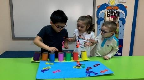 Güneşli Okyanus Koleji Okul Öncesi Yunuslar Grubu Oyun Etkinliğinde