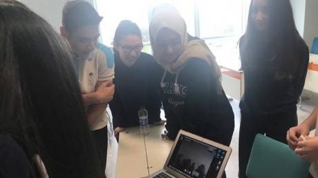Halkalı Okyanus Koleji'nde eTwinning Projesi