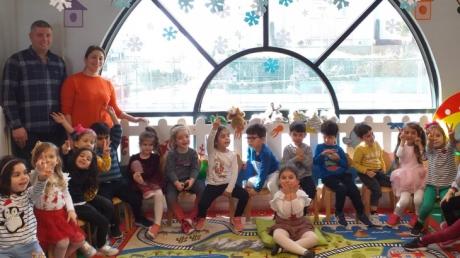 Halkalı Okyanus Koleji Okul Öncesi Mercan Grubu Aile Katılımı Etkinliğinde