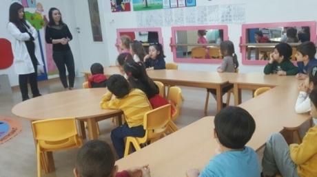 Haramidere Solarkent Okyanus Anaokulu Yunuslar Grubu Aile Katılım Etkinliğinde