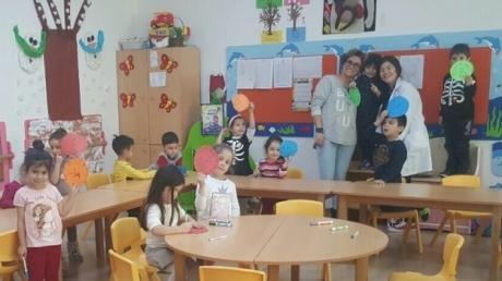 Haramidere Solarkent Okyanus Anaokulu Yunuslar Grubu Öğrencileri Aile Katılım Etkinliğinde