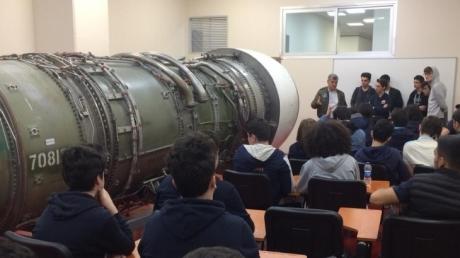 Avcılar Okyanus Koleji Havacılık Kariyer Kulübü Yüksek Teknoloji Eğitiminde