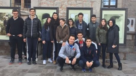 İncek Okyanus Anadolu Lisesi Mehmet Akif Ersoy Evinde