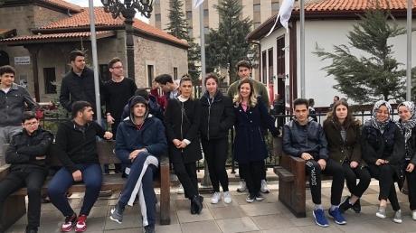 İncek Okyanus Anadolu Lisesi Taceddin Dergahında!