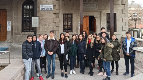 İncek Okyanus Koleji Anadolu Lisesi Mehmet Akif Ersoy'un Evi'nde...