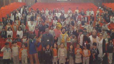 İncek Okyanus Koleji İlkokul Kademesi Tiyatro Heyecanı