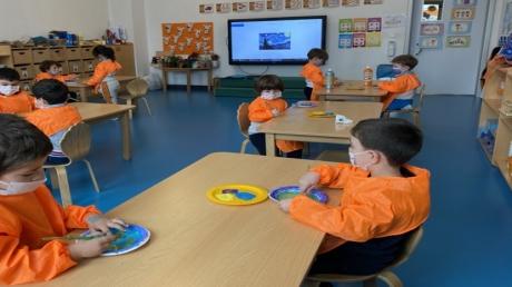İncek Okyanus  Okul Öncesi Öğrencileri İngilizce Etkinliğinde Kültür Teması  Hollanda' yı Öğrendiler.