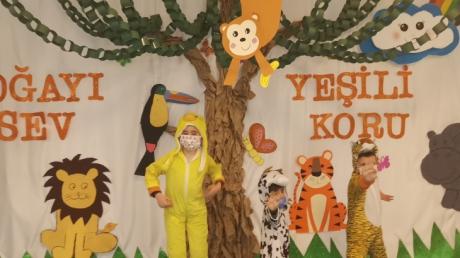 İncek Okyanus Koleji Okul Öncesi Öğrencileri 27 Mart Dünya Tiyatrolar Gününü Kutladılar.