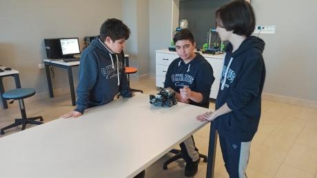 İncek Okyanus Kolejinde Vex Robotik Dersi