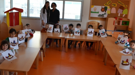 İnciler Sınıfı Aile Katılımı Etkinliğinde
