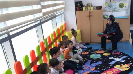 Keçiören Okul Öncesi Çiçekler Sınıfı Aile Katılım Etkinliğinde