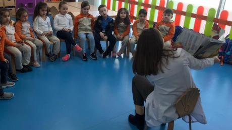 Keçiören Okul Öncesi İnciler Sınıfı Türkçe-Fen Bütünleştirilmiş Etkinliğinde