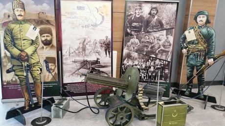 Keçiören Okyanus Koleji Çanakkale'den Cumhuriyet'e Gerçek Objeler ve Kahramanlar Müzesi