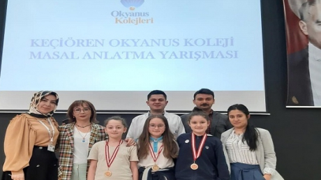 Keçiören Okyanus Koleji Masal Yazma ve Anlatma Yarışması