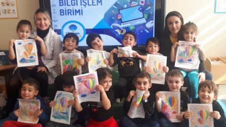 Mavişehir Okyanus Koleji İnciler grubu Öğrencileri Aile Katılımı Etkinliğinde