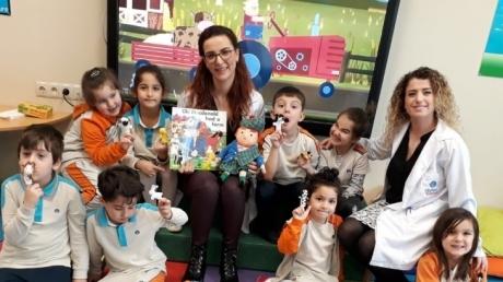 Mavişehir Okyanus Koleji Okul Öncesi Çiçekler Grubu İngilizce Dersinde