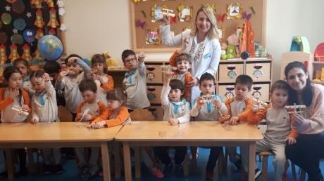 Mavişehir Okyanus Koleji Okul Öncesi İnciler Grubu Sosyal Beceri Dersinde
