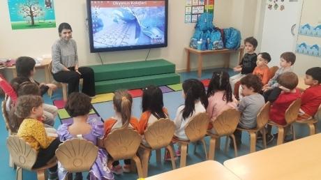 Mavişehir Okyanus Koleji Okul Öncesi Yunuslar Grubu Sosyal Beceri Dersinde