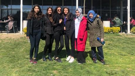 Mimarsinan Okyanus Koleji İstanbul Teknik Üniversitesinde