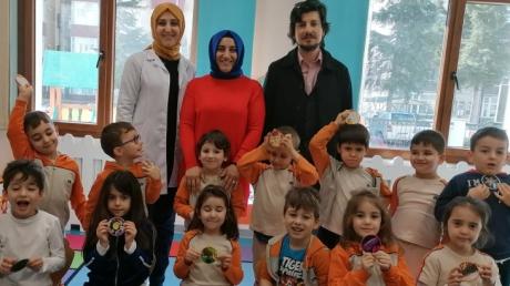 Mimarsinan Okyanus Koleji Okul Öncesi Yıldızlar Grubu Aile Katılım Etkinliğinde