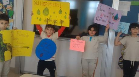 Nilüfer Okyanus Koleji'nde 22 Mart Dünya Su Günü