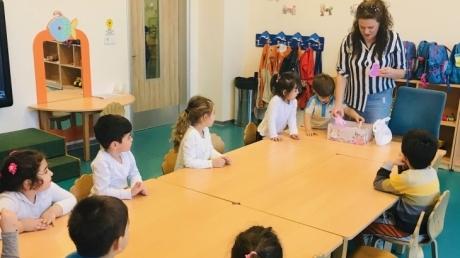 Nilüfer Okyanus Koleji Yunuslar Sınıfı Veli Katılımı Etkinliğinde