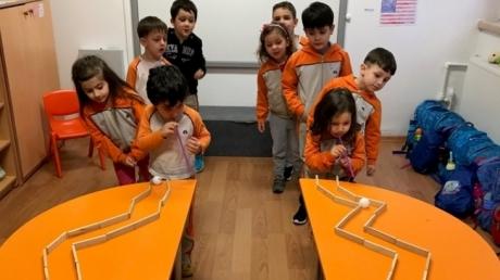 Okul Öncesi Deniz Yıldızları Grubu Öğrencileri Oyun Etkinliğinde