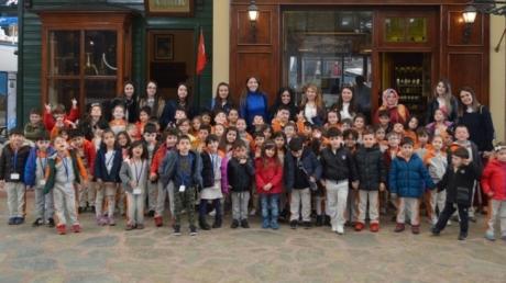 Okul Öncesi Öğrencileri Rahmi Koç Müzesinde