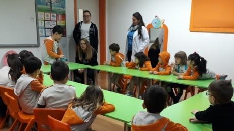 Okul Öncesi Yıldızlar Grubu Öğrencileri Aile Katılım Etkinliğinde