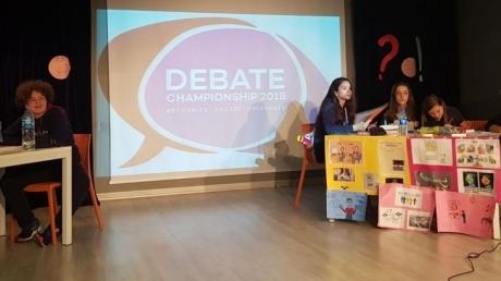 Okyanus Koleji Bahçelievler Şubesinde 7. Sınıflar Debate Show-Yarışma