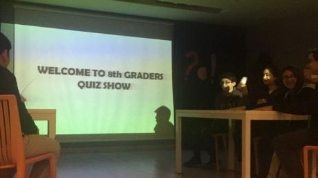 Okyanus Koleji Bahçelievler Şubesinde 8. Sınıflar Quiz Show Etkinliği