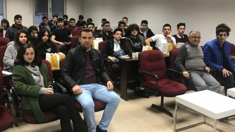 Okyanus Koleji Öğrencileri Ticaret Üniversitesinde