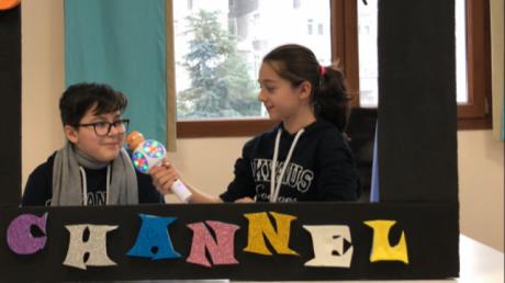 Okyanus Kolejleri Mimarsinan Ortaokulu Ingilizce Zümresi Okyanus Channel etkinliği!