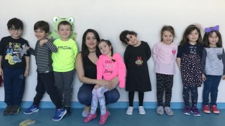 Özel Çekmeköy Okyanus  Okul Öncesi  Balıklar Grubu Aile  Katılım Etkinliğinde