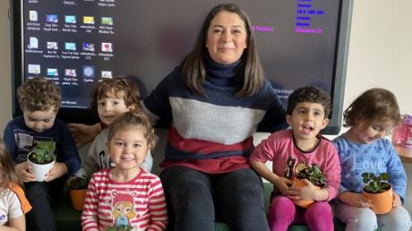 Özel Çekmeköy Okyanus Okul Öncesi Çiçekler Grubu Aile Katılım Etkinliğinde