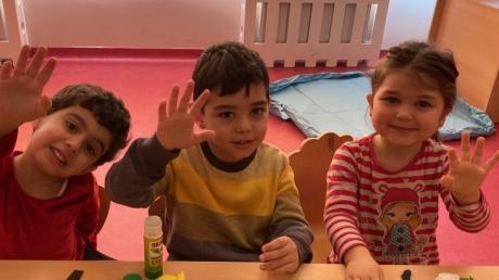 Özel Çekmeköy Okyanus Okul Öncesi Çiçekler Grubu Fastrackids Dersinde