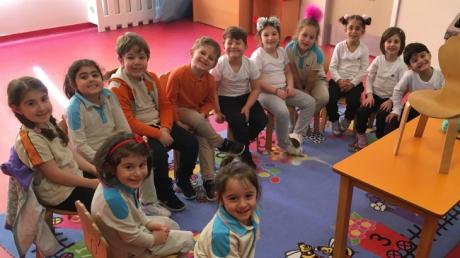 Özel Çekmeköy Okyanus Okul Öncesi Yıldızlar Grubu Fastrackids Dersinde
