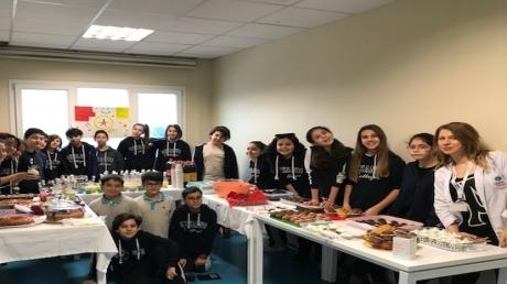 Özel Mavişehir Okyanus Ortaokulu Öğrencilerinden Minik Yüreklere Tam Destek