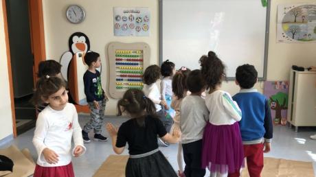Sancaktepe Okyanus Koleji İnciler Grubu Öğrencileri Play Time Etkinliğinde