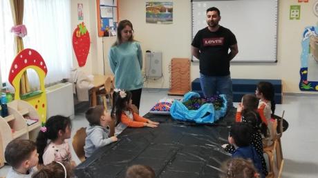 Sancaktepe Okyanus Koleji Kuşlar Grubu Öğrencileri Aile Katılımı Etkinliğinde