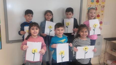 Sancaktepe Okyanus Koleji Okul Öncesi Gezegenler Grubu Öğrencileri Okuma Yazmaya Hazırlık Etkinliğinde