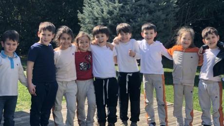 Sancaktepe Okyanus Koleji Okul Öncesi Yıldızlar Grubu Öğrencileri Oyun Etkinliğinde