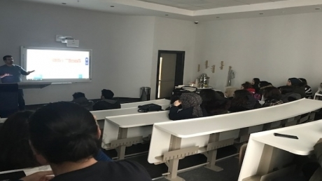 Sancaktepe Okyanus Koleji Sağlık Bilimleri Kariyer Kulübü Öğrencileri Medipol Üniversitesi Sağlık Bilimleri Fakültesinde..