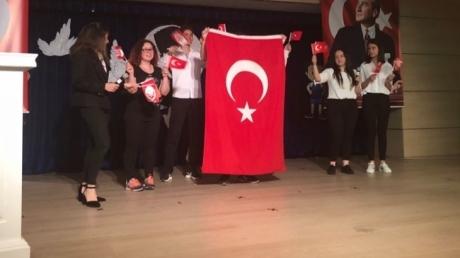 19 Mayıs Atatürk'ü Anma Gençlik Ve Spor Bayramı Ataşehir Okyanus Kolejinde Büyük Bir Çoşkuyla Kutlandı.