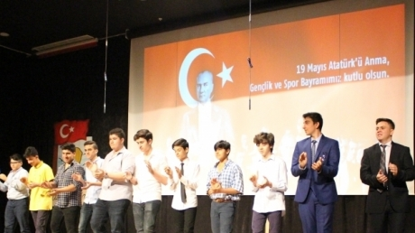19 Mayıs Atatürk'ü Anma Gençlik ve Spor Bayramı Bornova Okyanus Koleji'nde Gururla Kutlandı