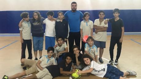 """""""Gelecekte Bir Gün Meslekte İlk Gün Projesi"""" Kapsamında 'Futbolcu' Mesleği Tanıtım Gezisi Yapıldı"""
