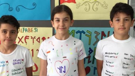 """Adana Okyanus Koleji'nde """"Türkçe Günü Etkinliği"""" Bütün Sınıfların Coşkusuyla Kutlandı"""