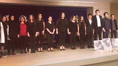 Ataşehir Okyanus Anadolu Ve Fen Lisesinde Şiir Dinletisi